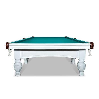 Бильярдный стол для русского бильярда Консул 12 футов (белый) Фото