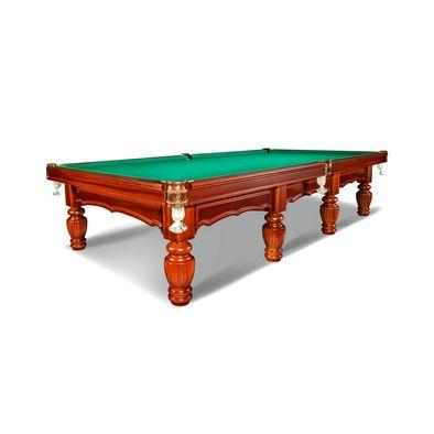 Бильярдный стол для русского бильярда Лидер 12 футов (корица)