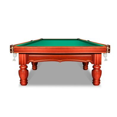 Бильярдный стол для русского бильярда Лидер 12 футов (корица) Фото