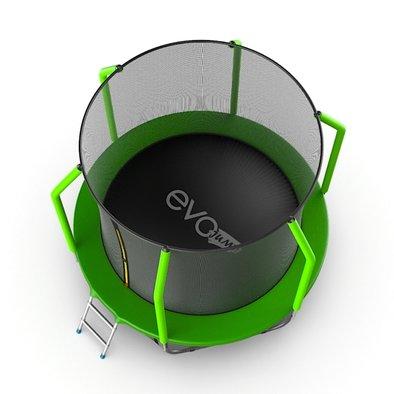 Батут с сеткой и лестницей EVO Jump Cosmo 6ft + нижняя сеть