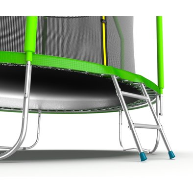 Батут с сеткой и лестницей EVO Jump Cosmo 10ft