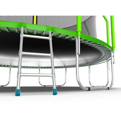 Батут с сеткой и лестницей EVO Jump Cosmo 16ft Фото