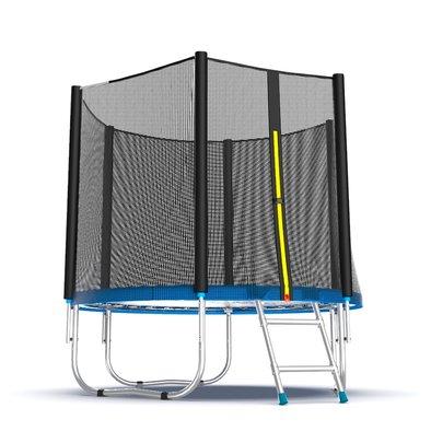 Батут с сеткой и лестницей EVO Jump External 6ft