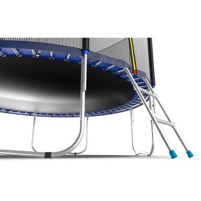Батут с сеткой и лестницей EVO Jump External 8ft Фото