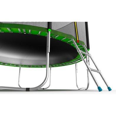 Батут с сеткой и лестницей EVO Jump External 8ft