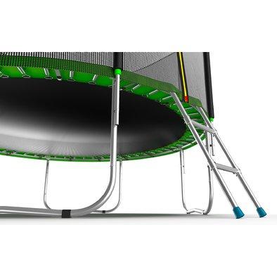 Батут с сеткой и лестницей EVO Jump External 10ft Фото