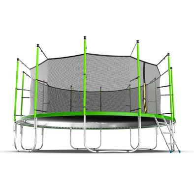 Батут с сеткой и лестницей EVO Jump Internal 16ft