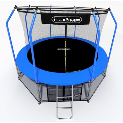 Батут с сеткой i-Jump Elegant 16ft Фото