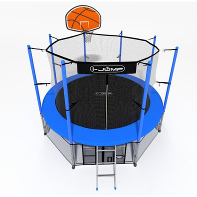 Батут с сеткой i-Jump Basket 8ft Фото