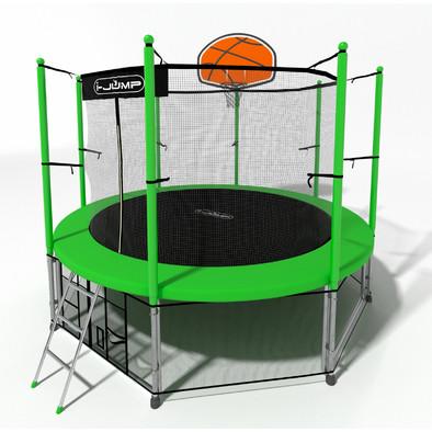 Батут с сеткой i-Jump Basket 12ft