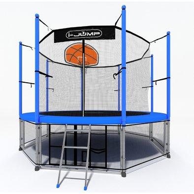 Батут с сеткой i-Jump Basket 14ft