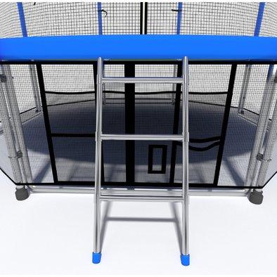 Батут с сеткой i-Jump Basket 14ft Фото