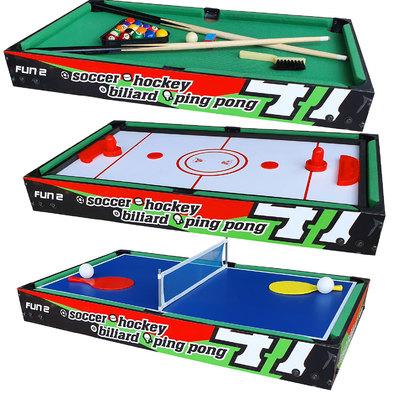 """Игровой стол """"Трансформер"""" DFC FUN2 4 в 1"""