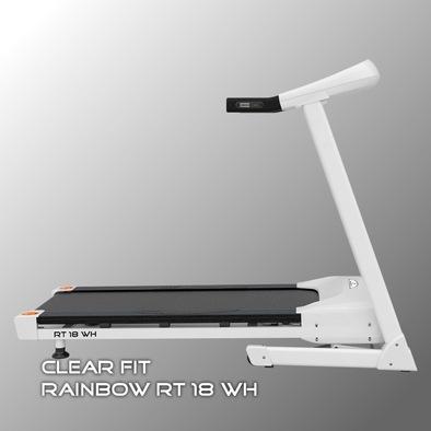 Беговая дорожка Clear Fit Rainbow RT 18 WH Фото