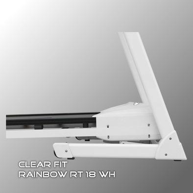 Беговая дорожка Clear Fit Rainbow RT 18 WH