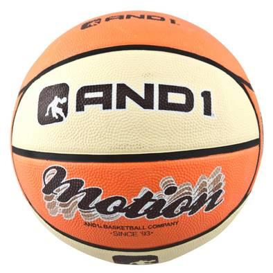 Баскетбольный мяч AND1 Motion Orange/Cream Фото