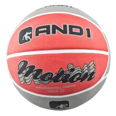 Баскетбольный мяч AND1 Motion Red/Grey
