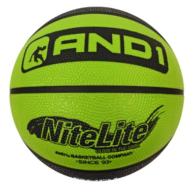 Баскетбольный мяч AND1 Nite Lite Glow in the dark