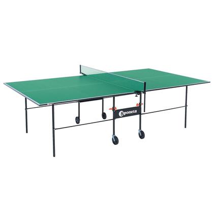 Теннисный стол для помещений Sponeta S1-04i зеленый